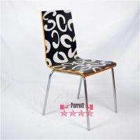 现货供应时尚现代型压布背景贴身餐椅风格简约适合客厅椅酒店椅等