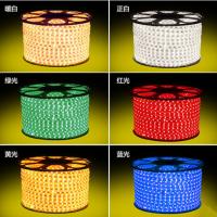 led灯带5050贴片220v超高亮客厅卧室吊顶暗槽照明软光带led灯条