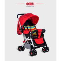婴儿车轻便双向八轮婴儿推车减震折叠新生儿童车
