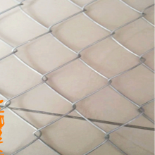 亚奇工厂直营——常州边坡绿化勾花网-镀锌菱形防护网5×5cm网格1万平米边坡用