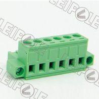 供应特供总代理上海雷普LEIPOLE线路板端子系列-插拔式接线端子PCB端子 2ELPKM-5.08