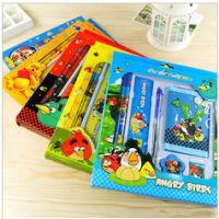 六一礼包创意文具 迪斯尼6合1文具套装 带钱包 儿童奖品学习用品