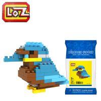 德国LOZ俐智 9286小鸟 袋装小颗粒钻石迷你小动物积木 益智玩具