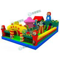 幼儿游戏大全---充气式游泳池---大型蹦蹦床