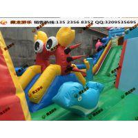 充气滑梯游乐设备 儿童欢乐充气乐园 充气城堡游乐设施广场游乐场