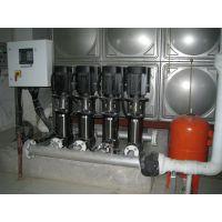 湖南小龙人承建铜仁某政府的无负压变频供水设备,不锈钢水箱项目