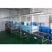 厂家定制印刷及塑胶行业专用烘干线体,自动控温,变频调节运营速度。