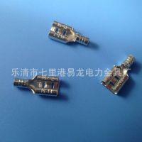 厂家直销铜质端子 250插簧接插件 冷压接线端子 欢迎询价 ROHS
