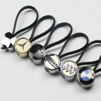 金属汽车钥匙扣 创意车标钥匙挂件 奥迪丰田大众宝马奔驰钥匙绳