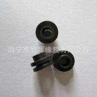阻燃硅橡胶单面电源线扣式出线圈 过线圈