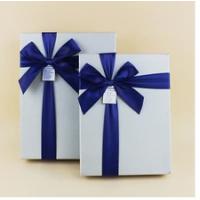 高档礼品盒定做首饰包装盒硬纸板蝴蝶结时尚天地盖礼盒送礼必备