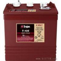 美国邱健蓄电池T-105观光车专用蓄电池
