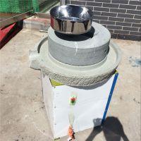鼎信大型优质绿砂岩耐磨家用豆浆石磨 豆浆加盟连锁店专用石磨机