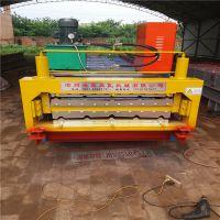 浩鑫机械生产实心轴高配置840/900型全自动彩钢压瓦机现货销售