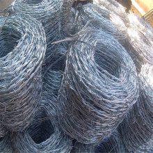 刺绳安装方法 刀片刺丝 螺旋式刺丝