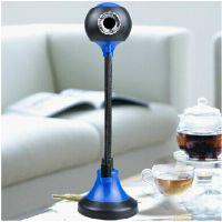 厂家批发 眼 蓝魔免驱高清电脑摄像头 USB麦克风 网吧摄像头