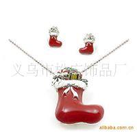 树脂圣诞吊坠 时尚圣诞饰品 圣诞节万圣节挂件 广告促销礼品套链