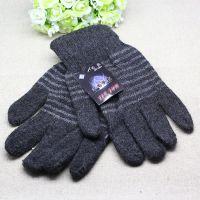 秋冬手套保暖手套成人五指手套批发 男式冬季针织手套