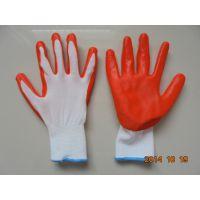 劳保工作挂胶手套