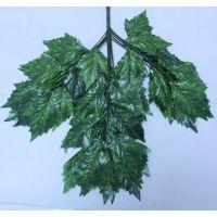 批发仿真火炬树叶 装饰工程树叶 假树叶 仿真树叶 仿真植物