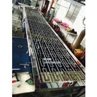 供应304钛金镜面满焊隔断 玫瑰金镜面满焊屏风厂家 佛山香槟金镜面满焊花格