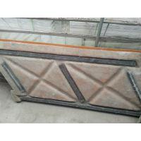 为细节精益求精郑州天艺批发1.8m仿木X型河道护栏玻璃钢模具