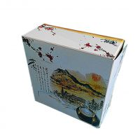 古色田园酒店折叠纸抽包装盒、抽纸盒、餐巾纸盒 工厂生产加工