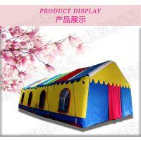 亚图卓凡可定做大型婚宴充气大棚农村红白喜事帐篷移动餐饮充气帐篷