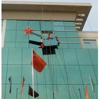 供应深圳广州幕墙玻璃维修安装高空广告牌字画显示屏灯饰拆装高盛幕墙