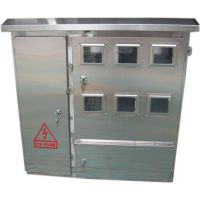 网联电气供应不锈钢电表箱室外配电箱室内明装暗装箱基业箱12户10户9户8户