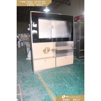 原装华为电视柜3.0版订做_不锈钢华为木纹配件柜厂家直销
