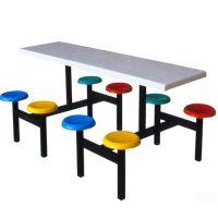 厂家供应 钢木餐桌 分体餐桌 学生餐桌 餐厅餐桌