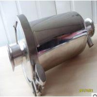 304卫生级快装呼吸器,酵罐无菌呼吸器、储罐呼吸器,0.22微孔膜空气过滤器