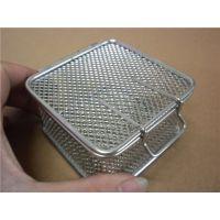 北京常年销售带挂锁内窥镜电焊网拼接网筐 折叠式挂篮