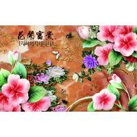 深圳瓷砖背景墙爱普生五色平板打印机