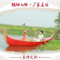 江苏兴化生产制造出售贡多拉游船 欧式船 手划船 服务类船