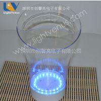 供应2012年直流电遥控冰桶七彩闪光冰桶 LED发光冰桶 遥控闪光冰桶