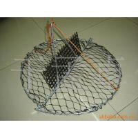 渔具渔网螃蟹笼虾网虾笼高强度聚乙烯线制作价格便宜海捕网饵料笼