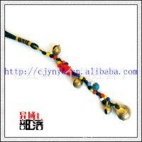 一手货源 手工挂件 包包挂件 手机挂件 中国结中号铜铃挂件ZF26