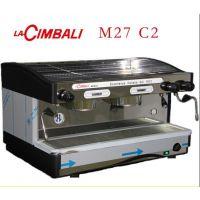新款金佰利M27 DT2双头电控咖啡机 专业商用半自动咖啡机