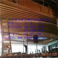 酒店前台装饰艺术铝方通吊顶(传喜)铝方通天花装饰,艺术铝方通吊顶,吊顶异型铝方通,弧形铝方通天花