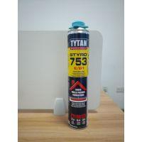 顶泰STYRO 753保温密封专用聚氨酯发泡剂 建筑防火密封B1级发泡剂