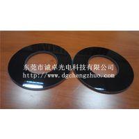 定做进口德国肖特高精度耐高温4--6mm厚打多孔开孔黑色陶瓷微晶玻璃板