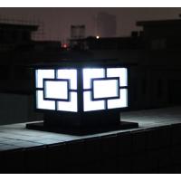 太阳能围墙灯 太阳能柱头灯 家用led庭院篱笆户外灯 中山创赢照明厂