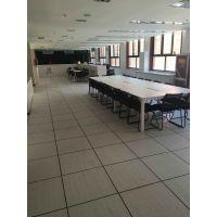 全钢PVC防静电地板价格|未来星机房架空地板施工|PVC防静电地板厂家