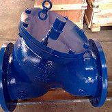铸钢DYH41X-Y-16/25C DN80 DYH41XY型快闭止回阀,高品质Y型快闭式止回阀