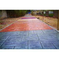 艺术压花地坪|彩色压模地坪—艺术地面铺装