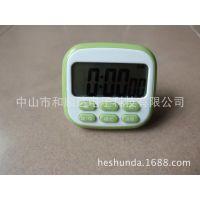 中山和顺达电子科技大屏幕厨房计时器 24小时倒计时器 正倒计时器 厨房定时器厂家