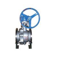 上海瓦特斯供应Q347Y涡轮固定球阀 化工专用球阀