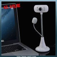 S22厂家私模雪狼电脑视频高清摄像头 台式USB视频头带麦克风